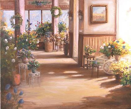 Floral Shop Show Room by Michele Tokach