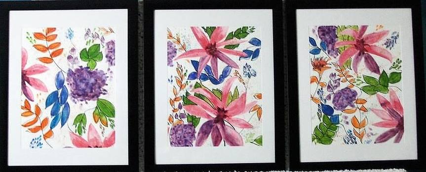 Floral Trio by Chip Picott