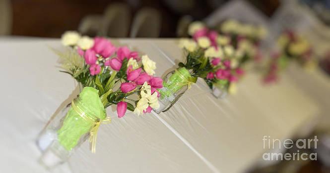 Floral vases by Denise Jenks