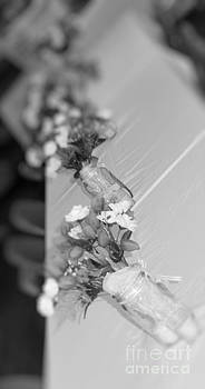 Floral vases in B W by Denise Jenks