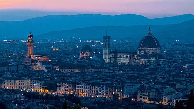 Florence at Dusk by Daniel Sands
