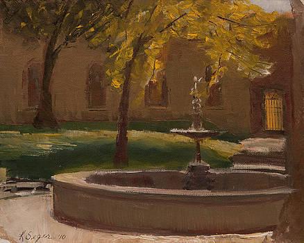 Florence Botanical Garden by Katherine Seger
