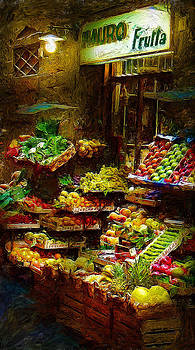 Florence Fruit Stand by Cary Shapiro