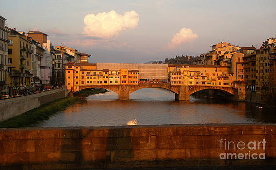 Gregory Dyer - Florence Italy - Ponte Vecchio - Sunset - 01