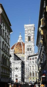 Florence Italy Santa Maria Fiori Duomo by Irina Sztukowski