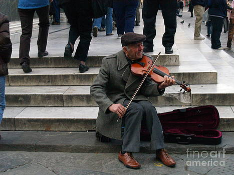 Florence Violinist by Robin Maria Pedrero