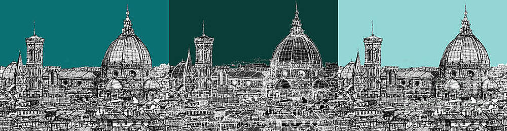 Florence's Duomo triptych by Adendorff Design