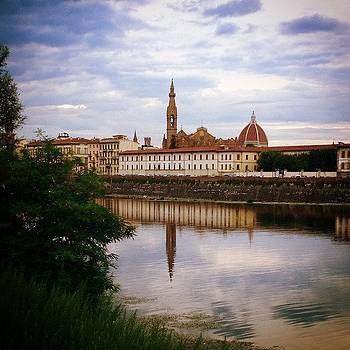 #florencia #italy #firenze #reflection by Francisco  Quiroz