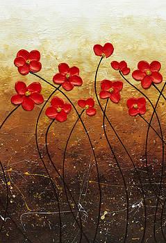 Flores de Mi Jardin 2 by Carmen Guedez
