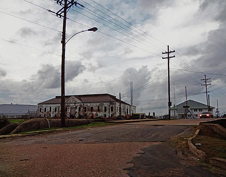Florida Avenue Pumping Station in New Orleans by Louis Maistros