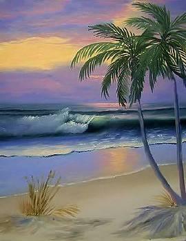 Florida Beach by Fineartist Ellen