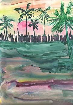 Florida City-Skyline2 by Mickey Krause