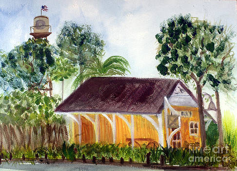 Donna Walsh - Florida East Coast Railroad Station in Delray Beach