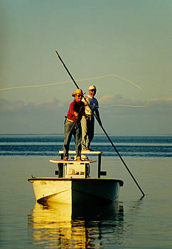 Dennis Cox - Florida Keys flatboat fishing 1