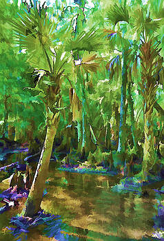Florida Palms by Sandy Poore