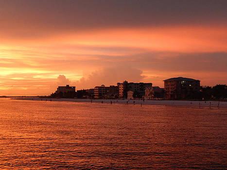 Florida Sunset 004 by Nola Hintzel