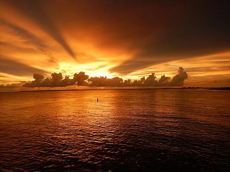 Florida Sunset 010 by Nola Hintzel