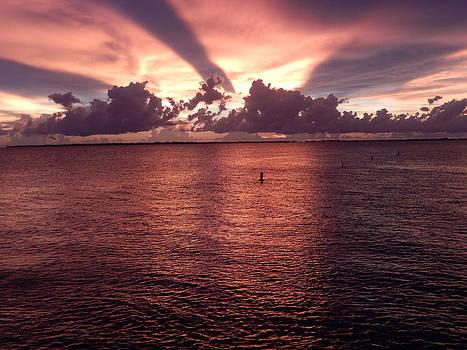 Florida Sunset 016 by Nola Hintzel