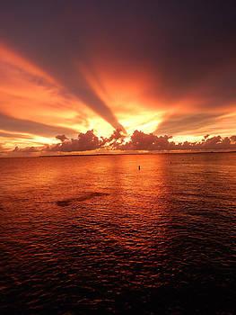 Florida Sunset 017 by Nola Hintzel