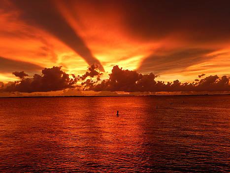 Florida Sunset 018 by Nola Hintzel