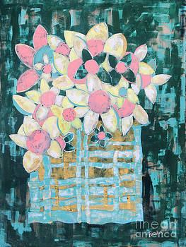 Flower basket by Paula Drysdale Frazell