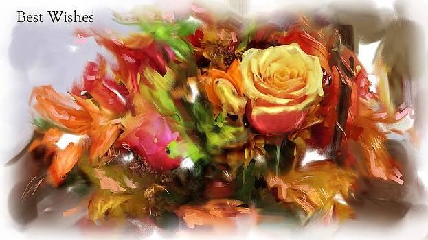 Usha Shantharam - Flower Bouquet greetings