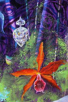 Anne Cameron Cutri - Flower detail of Annunciation
