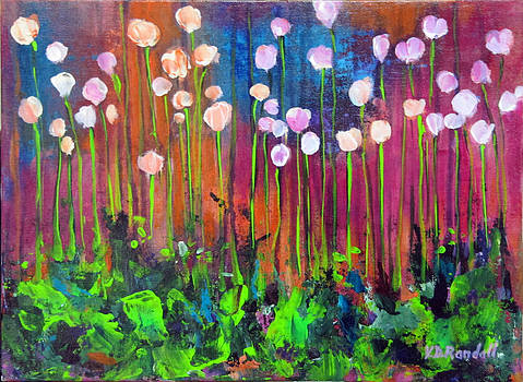 Flower Field 3 by Donna Randall