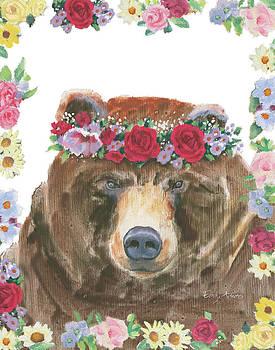 Flower Friends Vii by Emily Adams