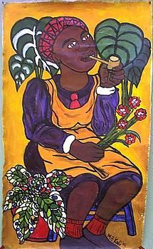 Flower Girl by Kalikata MBula