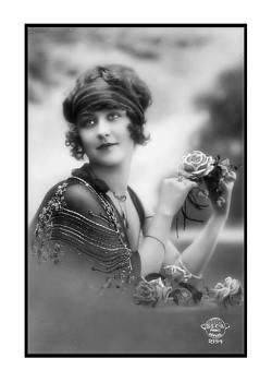 Denise Beverly - Flower Girl with Roses