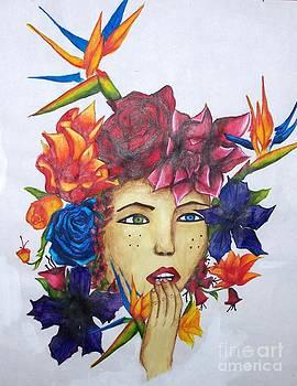 Flower Head by Kaila Hernandez