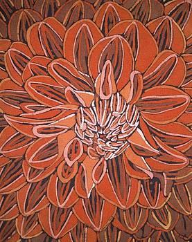 Flower Ii by Lukandwa Dominic