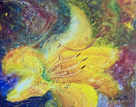 Flower impressions 1 by Silke Tyler