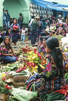 Flower Market 4 by Tina Manley