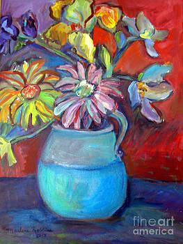 Flower Meditation by Marlene Robbins