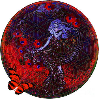 Flower of Life Nouveau  by Joseph Mosley