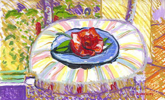 Candace Lovely - Flower on Chair
