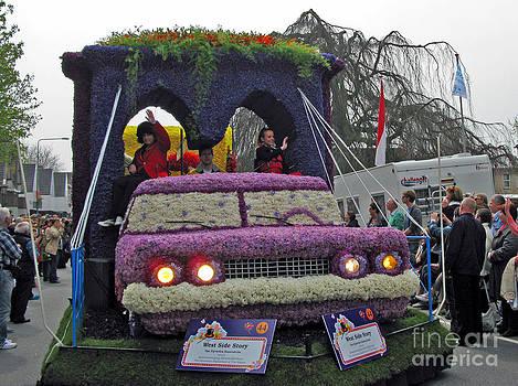 Ausra Huntington nee Paulauskaite - Flower Parade. Blumencorso Holland 2011
