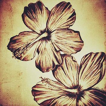 Flower Play 4 by Marenda Smith