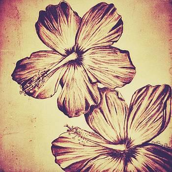 Flower Play 5 by Marenda Smith