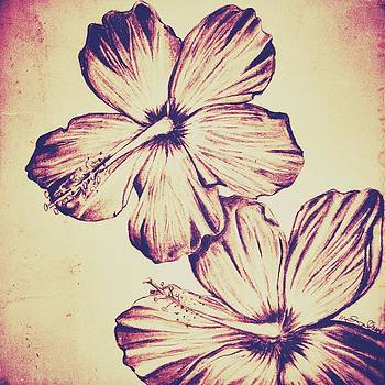 Flower Play 6 by Marenda Smith