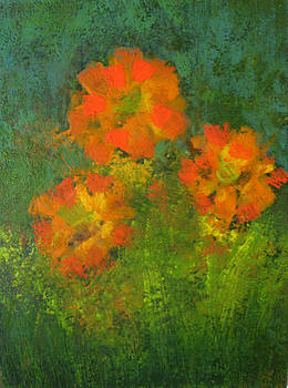 Flower Power by Carla E Reyes