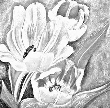 Flower Sketch by Mya Soliman