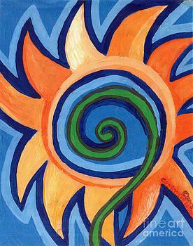 Genevieve Esson - Flower Spiral