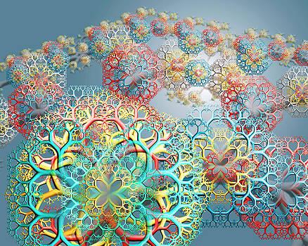 Flower Spray 02 by Chris Whitside