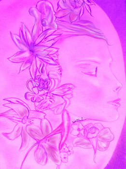 Flower Sprite by William  Paul Marlette