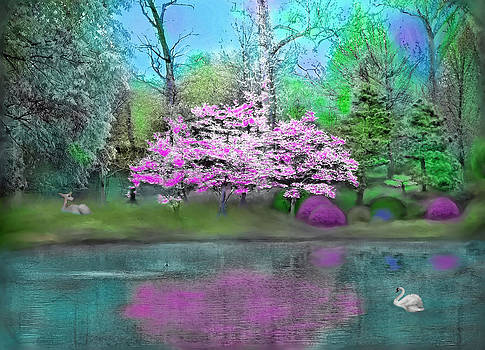 Flower Tree Reflections by Susanna Katherine