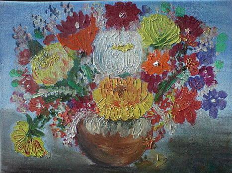 Flower Vase by Akshatha Karthik