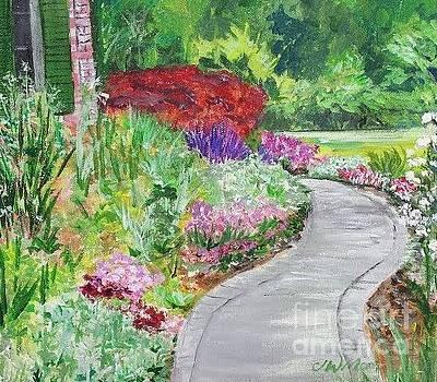 Flower Walk by Jill Morris